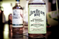 Vintage Jim Beam Straight Rye Whiskey, by Dean Chiang, Xyclopx