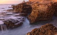 Montana de Oro State Park, CA, HDR ocean waves over rocks by Dean Chiang, Xyclopx