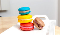 Rainbow of Macarons by Dean Chiang, Xyclopx