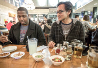 Myron and Chris Eating Ramen, by Dean Chiang, Xyclopx