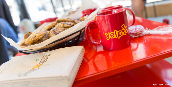 Yelp Red Table by Dean Chiang, Xyclopx