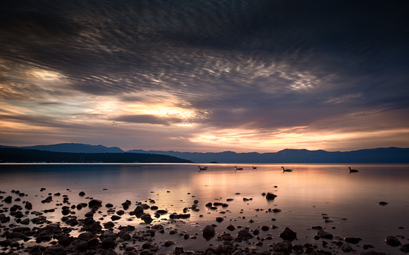 Sunrise over Lake Tahoe by Dean Chiang, Xyclopx