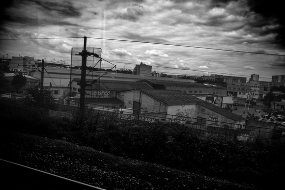 Paris through the Train Window by Dean Chiang, Xyclopx