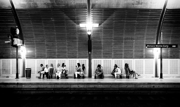 Monegasque Train Station by Dean Chiang, Xyclopx