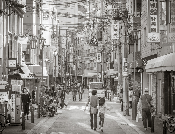 Busy Street in Japan, by Dean Chiang, Xyclopx