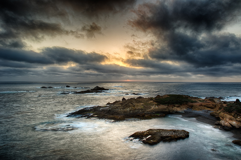 Hidden Sunset over Sea Lion Cove, by Dean Chiang, Xyclopx