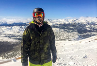 Me on top of Mammoth Mountain, by Dean Chiang, Xyclopx