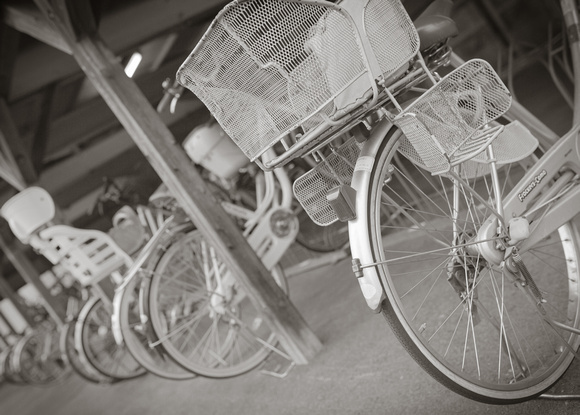 Baskets on a Bicycle, by Dean Chiang, Xyclopx